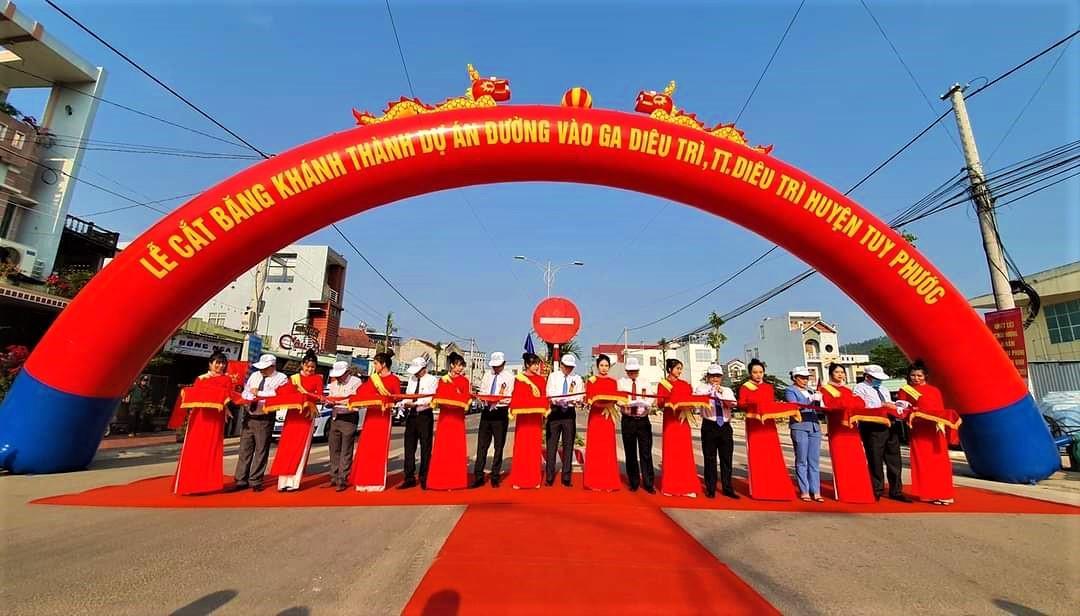 Bình Định: Khánh thành nhiều dự án giao thông quan trọng Ảnh 1