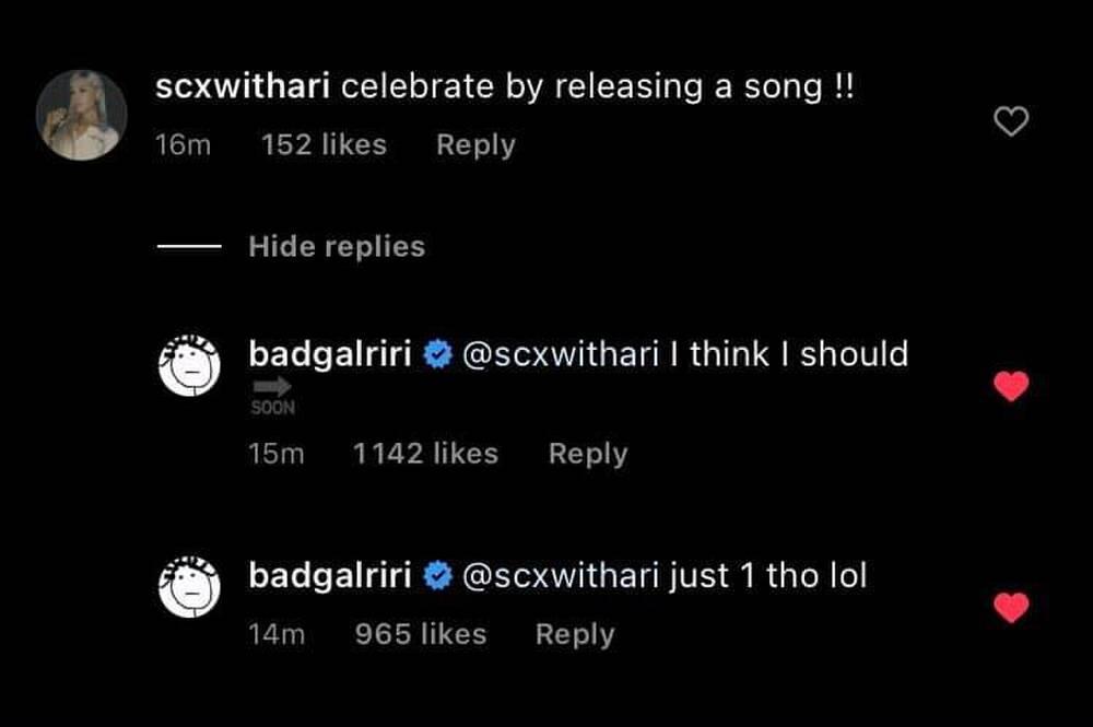 Rihanna tung hint sớm quay trở lại sân khấu trong thời gian tới Ảnh 1
