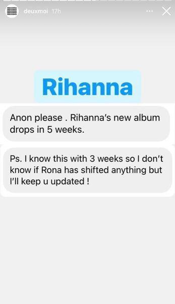 Rihanna tung hint sớm quay trở lại sân khấu trong thời gian tới Ảnh 4