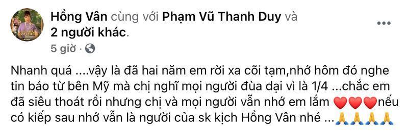 Sao Việt tưởng nhớ cố Nghệ sĩ Anh Vũ Ảnh 4