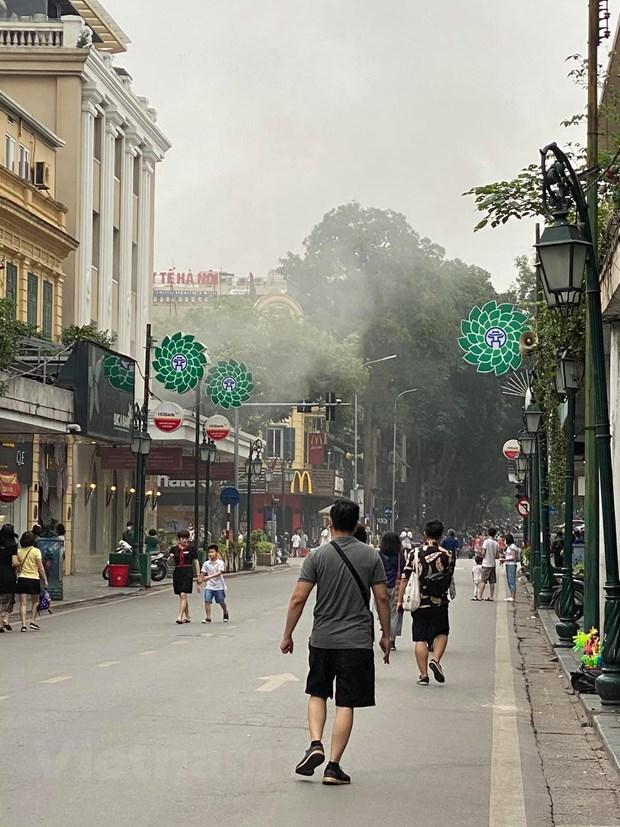 Hà Nội: Kịp thời dập tắt đám cháy tầng hầm Tràng Tiền Plaza Ảnh 4