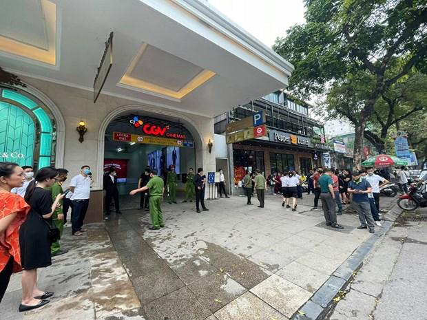 Hà Nội: Kịp thời dập tắt đám cháy tầng hầm Tràng Tiền Plaza Ảnh 3