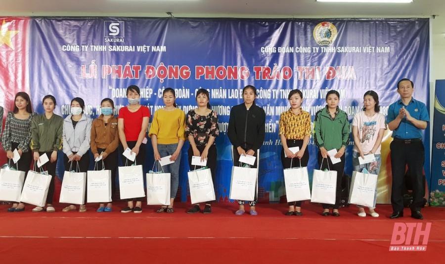 Doanh nghiệp - Công đoàn - công nhân, lao động Công ty TNHH Sakurai Việt Nam chung sức, thực hiện hóa khát vọng xây dựng quê hương Thanh Hóa văn minh, thịnh vượng Ảnh 4