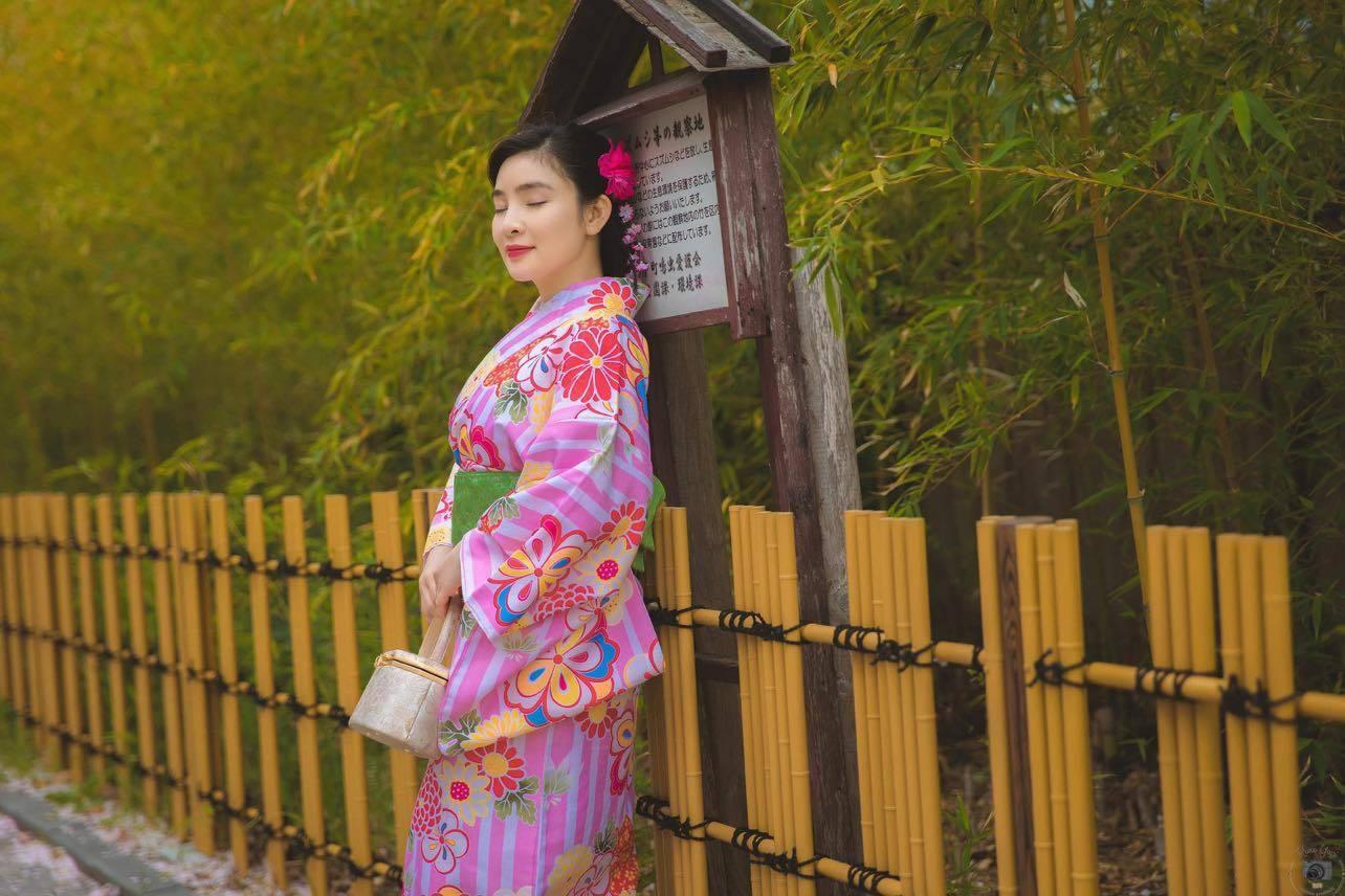 Ca sĩ Vân Nguyễn hóa thân thành cô gái Nhật Bản Ảnh 2