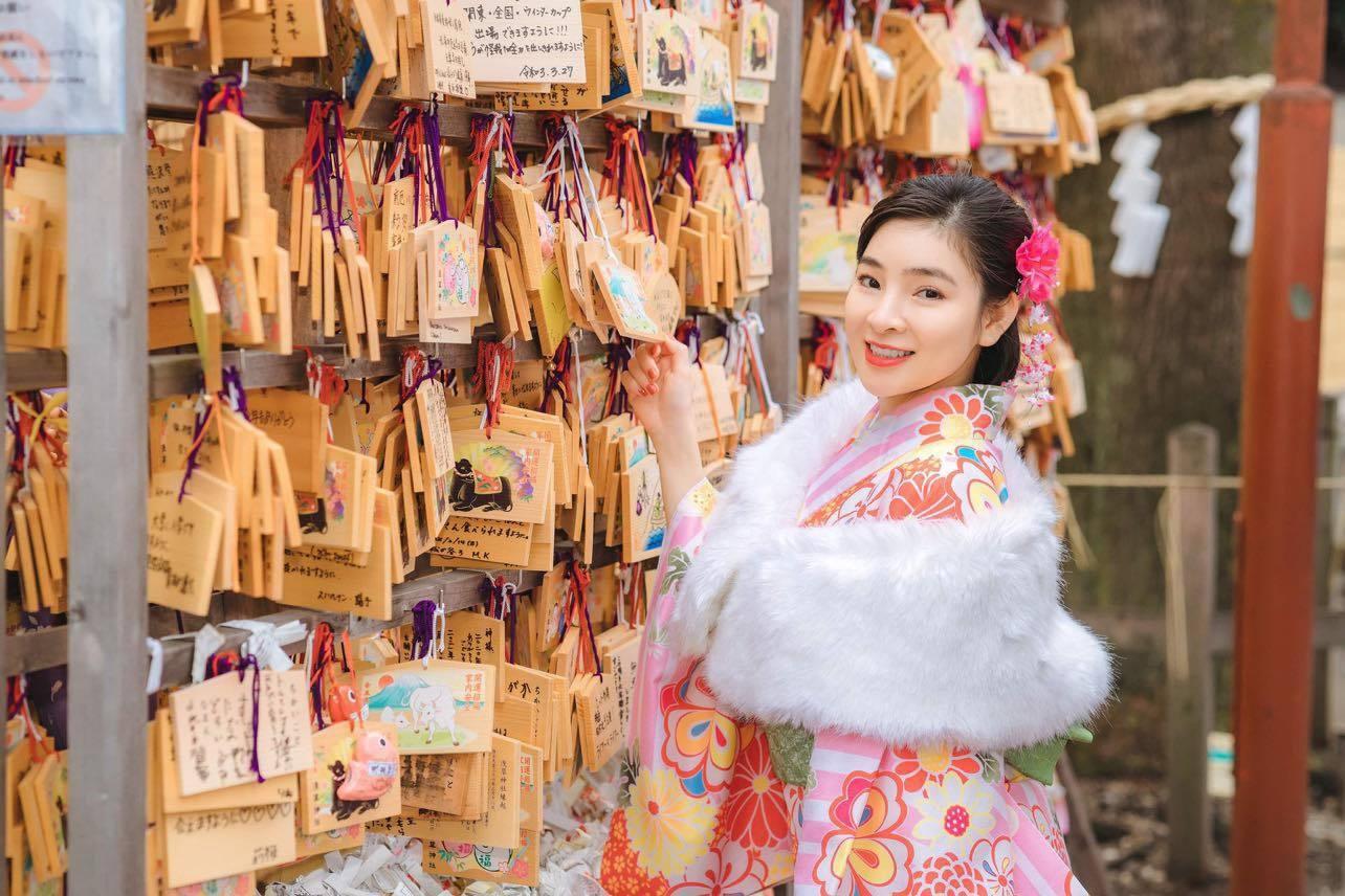 Ca sĩ Vân Nguyễn hóa thân thành cô gái Nhật Bản Ảnh 4