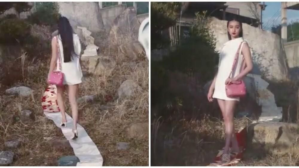 'Nàng thơ Chanel' Nhật Bản bị chỉ trích dữ dội khi dẫm chân lên áo Kimono Ảnh 1