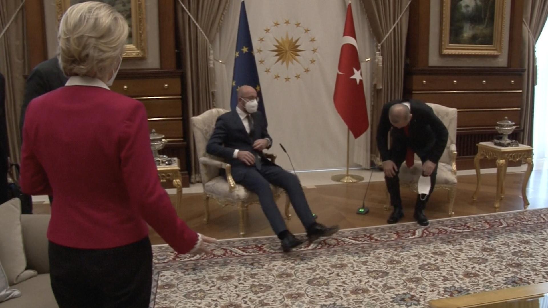 Nữ lãnh đạo EU bị tổng thống Thổ Nhĩ Kỳ phân biệt đối xử? Ảnh 1