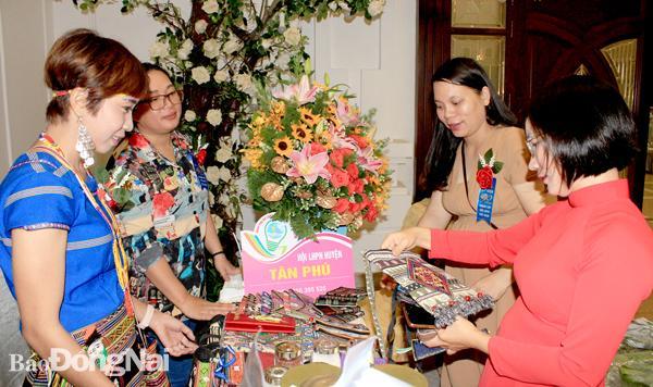 Phụ nữ Đồng Nai khởi nghiệp đồng hành cùng sản phẩm OCOP Ảnh 1