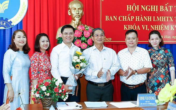 Ông Nguyễn Trung Dũng được bầu giữ chức Phó Chủ tịch Liên minh Hợp tác xã tỉnh Khánh Hòa Ảnh 1