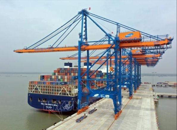 Hàng hóa qua cảng biển đã vượt quy hoạch Ảnh 1