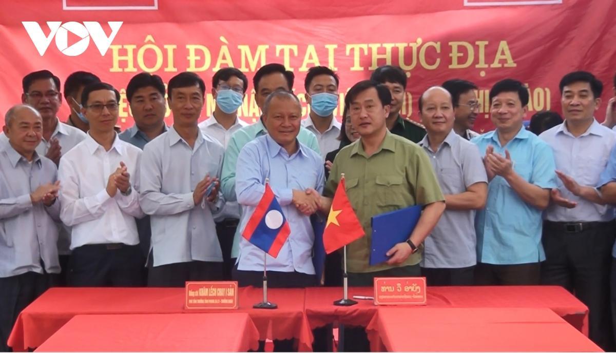 Việt Nam - Lào nhất trí có thêm lối mở ở biên giới thuộc tỉnh Điện Biên Ảnh 1