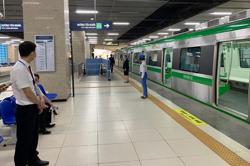 Kết nối các tuyến xe buýt với tuyến đường sắt Cát Linh - Hà Đông Ảnh 1