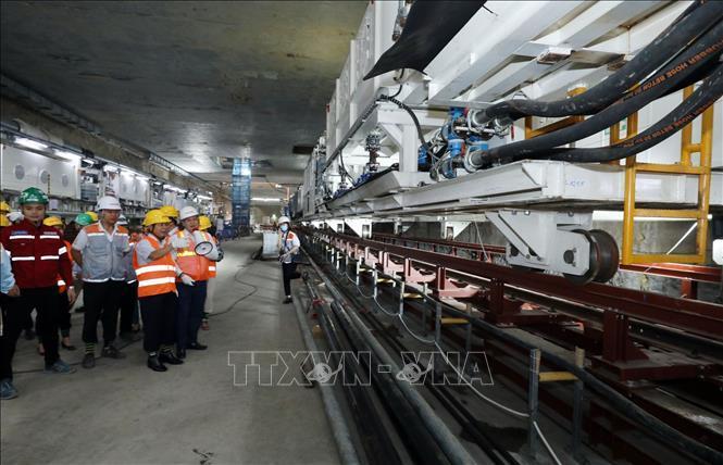 Kiểm tra an toàn, vệ sinh lao động tại Dự án Metro Line 3 Hà Nội Ảnh 1