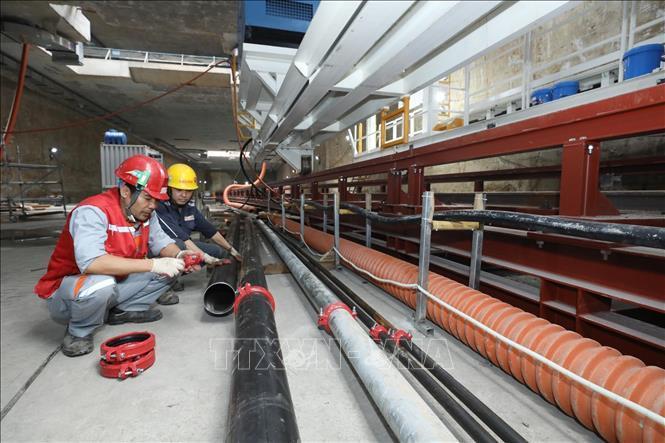 Kiểm tra an toàn, vệ sinh lao động tại Dự án Metro Line 3 Hà Nội Ảnh 5