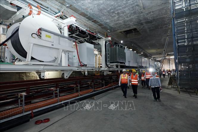 Kiểm tra an toàn, vệ sinh lao động tại Dự án Metro Line 3 Hà Nội Ảnh 4