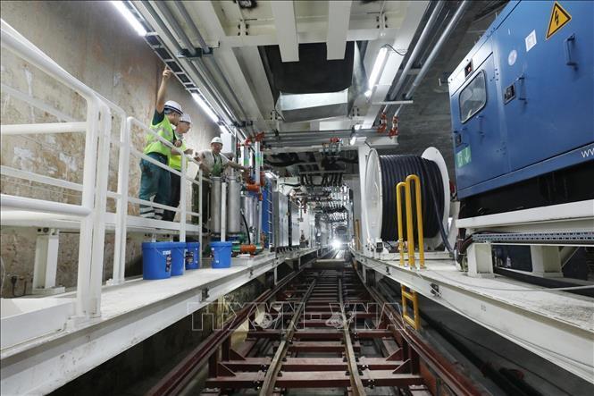 Kiểm tra an toàn, vệ sinh lao động tại Dự án Metro Line 3 Hà Nội Ảnh 6
