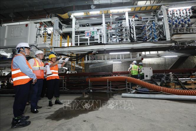 Kiểm tra an toàn, vệ sinh lao động tại Dự án Metro Line 3 Hà Nội Ảnh 3