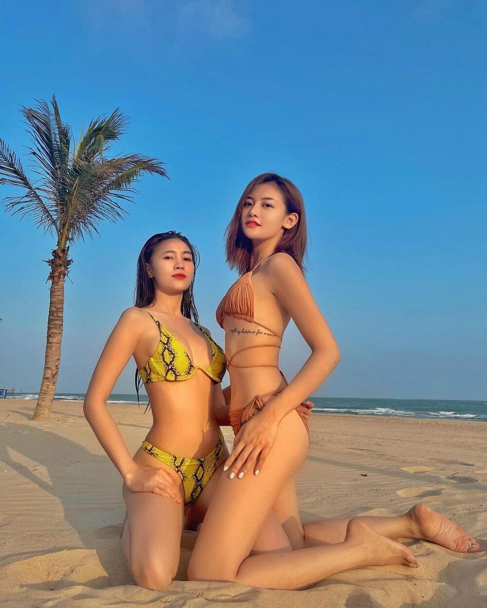 Ninh Dương Lan Ngọc, Tú Hảo, Thùy Anh đọ body khiến fan 'xoắn não' không biết ai đẹp hơn Ảnh 3