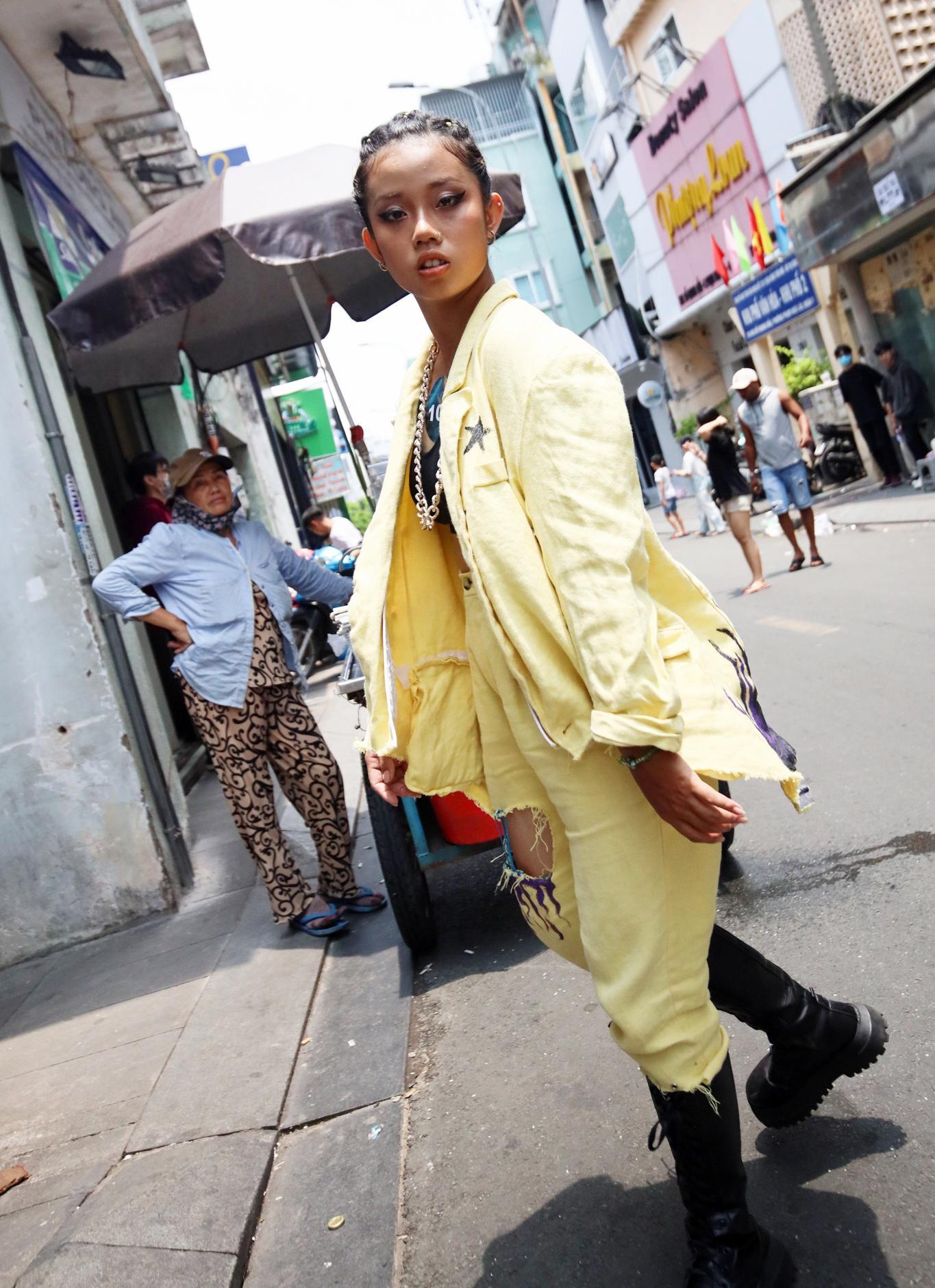 Giới trẻ mặc gì tại vòng casting Rap Việt? Ảnh 3