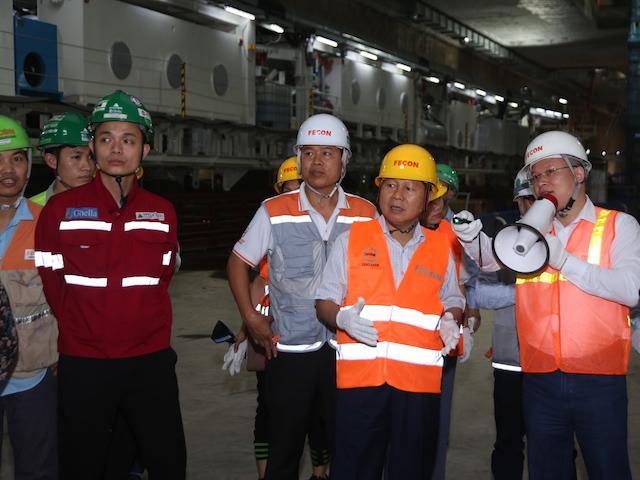 Đường sắt Nhổn - Ga Hà Nội: Đạt gần 3,6 triệu giờ làm việc an toàn Ảnh 2