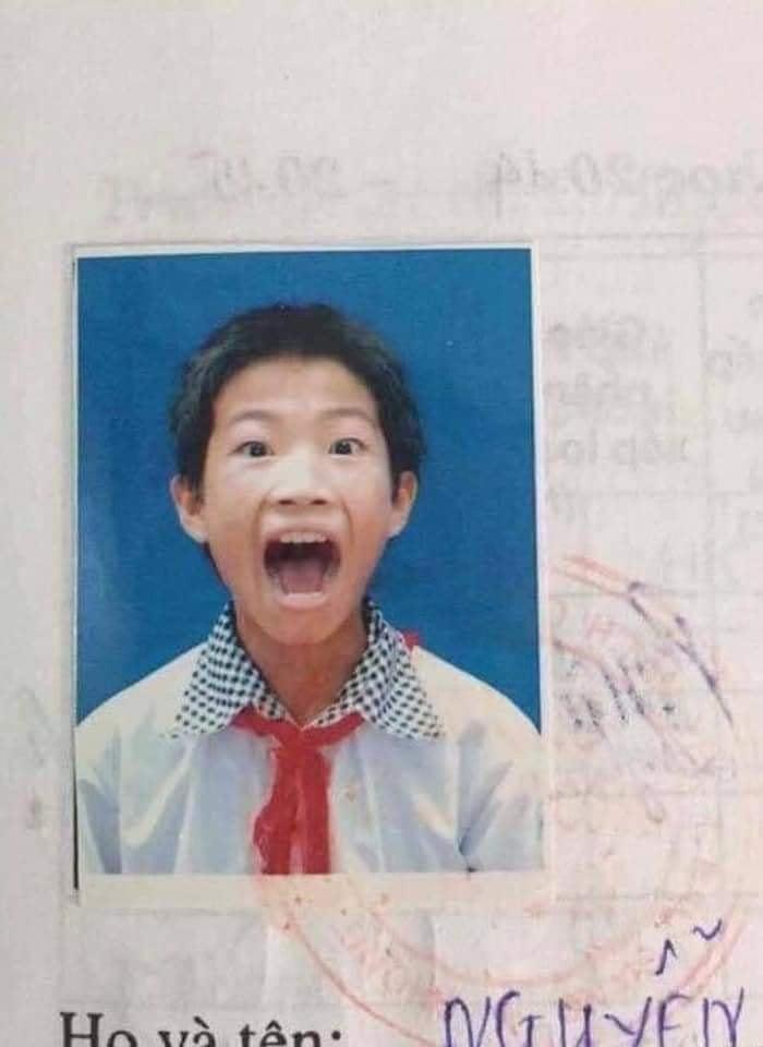 Loạt ảnh thẻ học sinh khiến người xem câm nín Ảnh 4