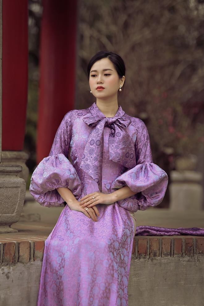 Lâm Vỹ Dạ bỗng nhiên dịu dàng nhờ áo dài của Đức Hùng Ảnh 10