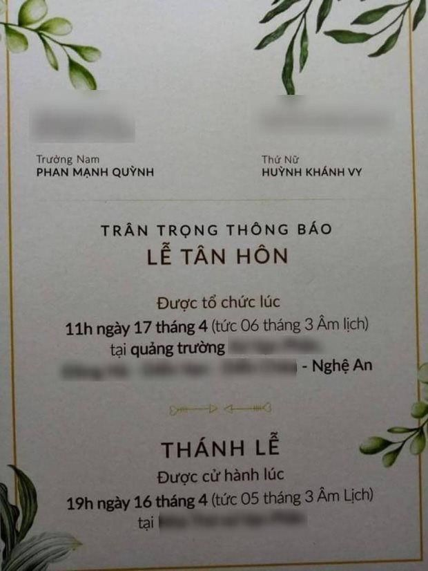 Phạm Mạnh Quỳnh chính thức kết hôn với bạn gái sau 5 năm hẹn hò Ảnh 5