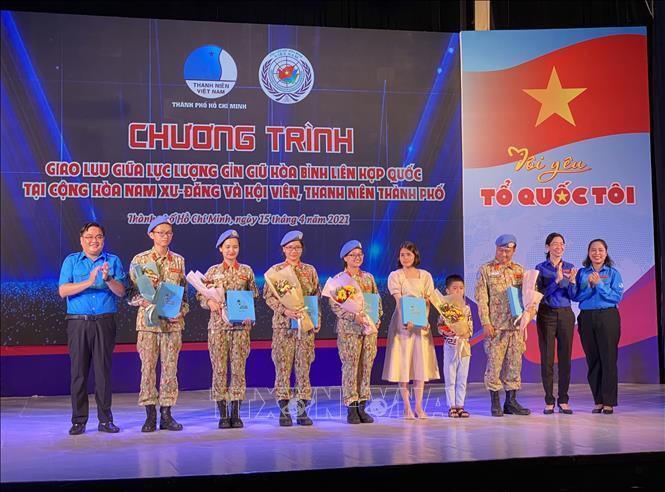 Tự hào người lính 'mũ nồi xanh' Việt Nam tham gia sứ mệnh gìn giữ hòa bình Ảnh 1