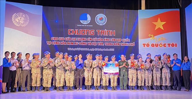 Tự hào người lính 'mũ nồi xanh' Việt Nam tham gia sứ mệnh gìn giữ hòa bình Ảnh 3