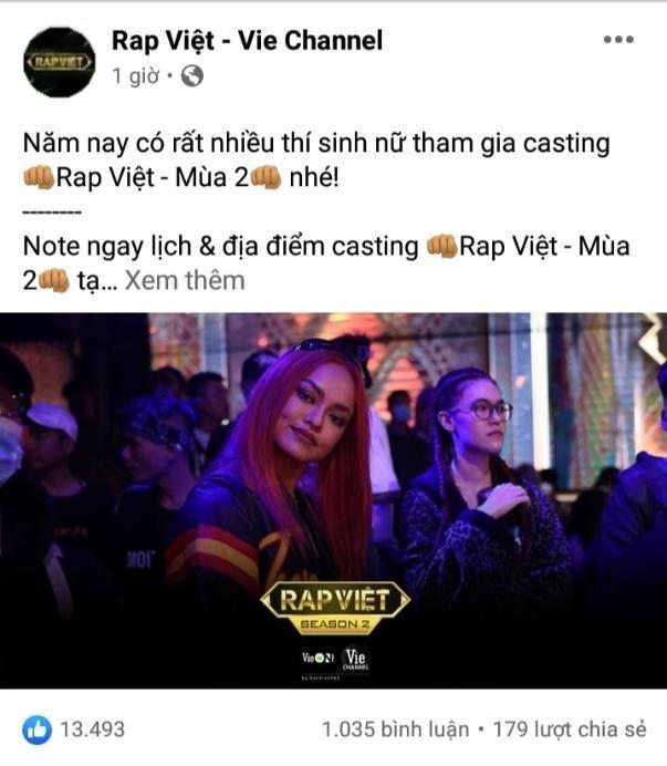 Cộng đồng mạng 'rần rần' khi Mai Ngô bất ngờ casting Rap Việt mùa 2 Ảnh 2