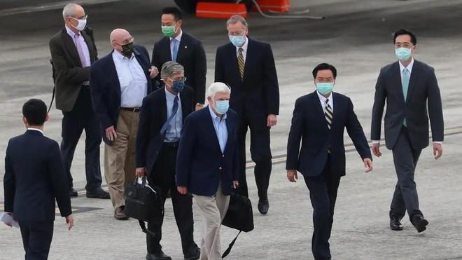Phái đoàn Mỹ đến Đài Loan gặp lãnh đạo Thái Anh Văn Ảnh 1