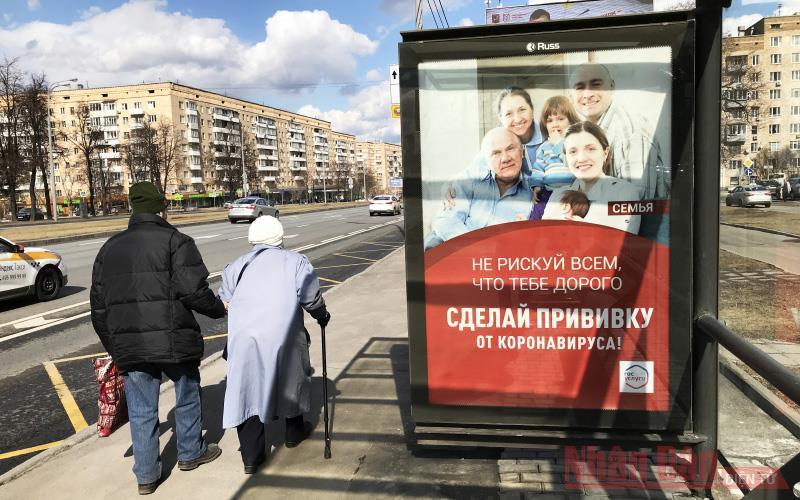 Tốc độ tiêm vaccine nhanh cho phép Nga sớm dỡ bỏ các hạn chế Ảnh 1