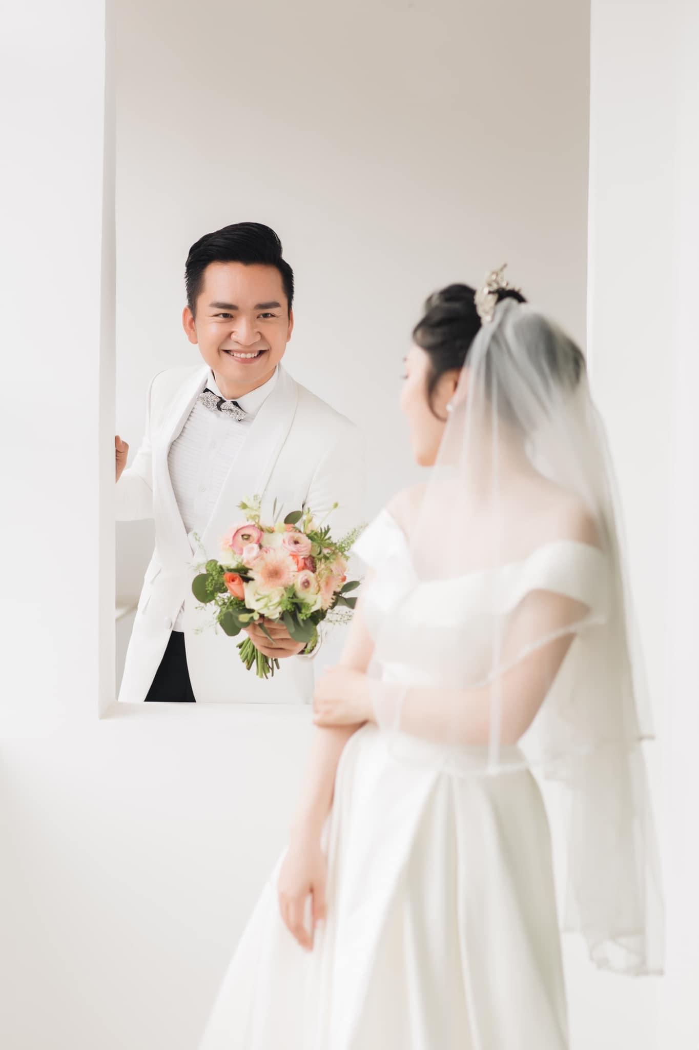 MC Hạnh Phúc chia sẻ sắp có con, tiết lộ lý do chưa thể tổ chức tiệc cưới Ảnh 2