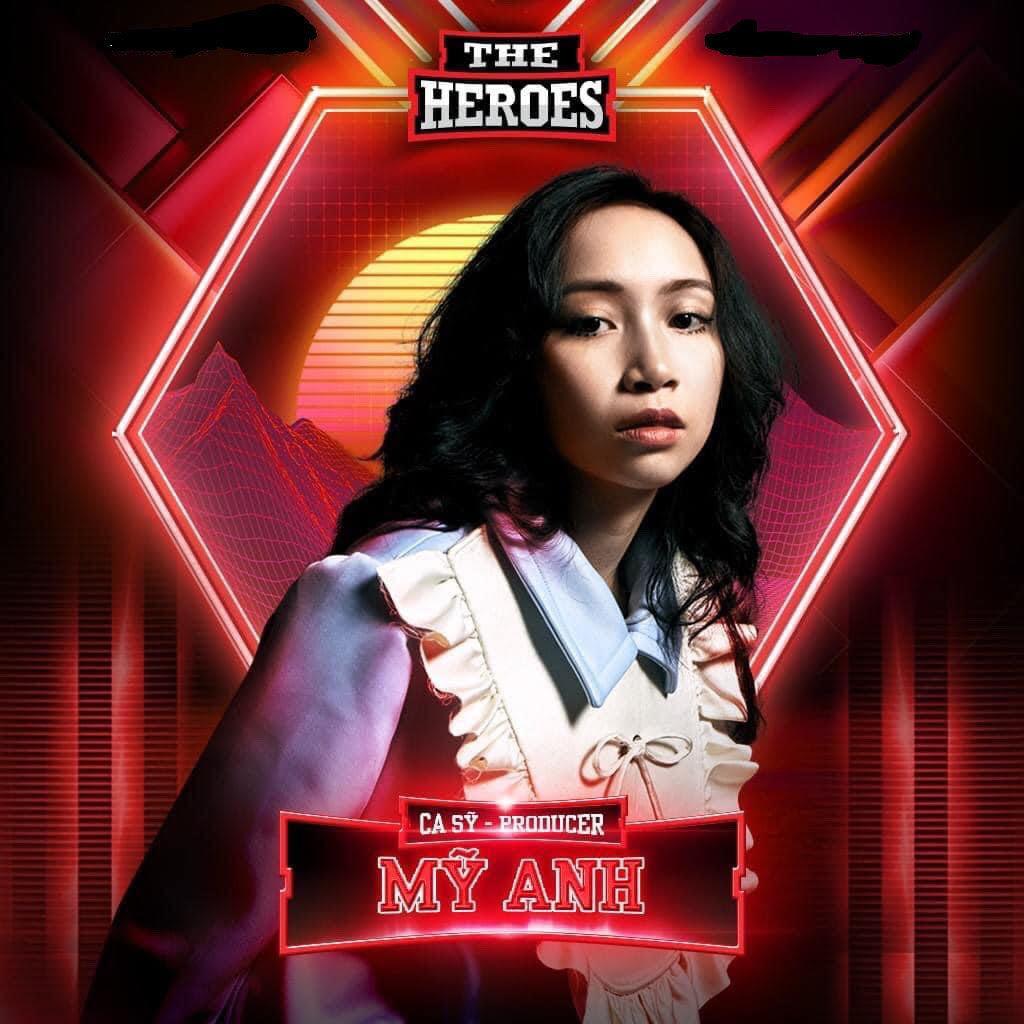 Con gái út Mỹ Linh 'đối đầu' Erik, Quân AP ở The heroes Ảnh 1