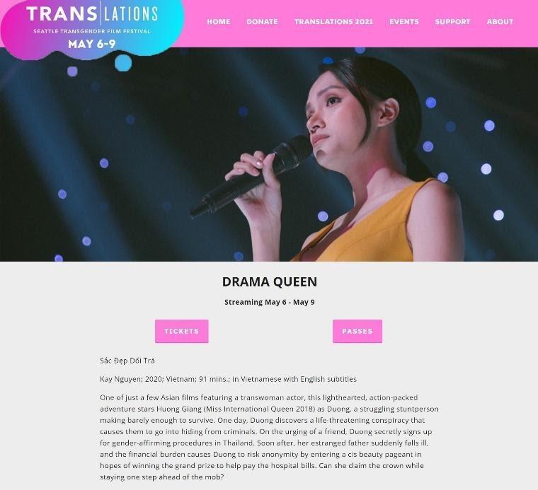 'Sắc đẹp dối trá' được công chiếu tại Liên hoan phim người chuyển giới lớn nhất thế giới Ảnh 2