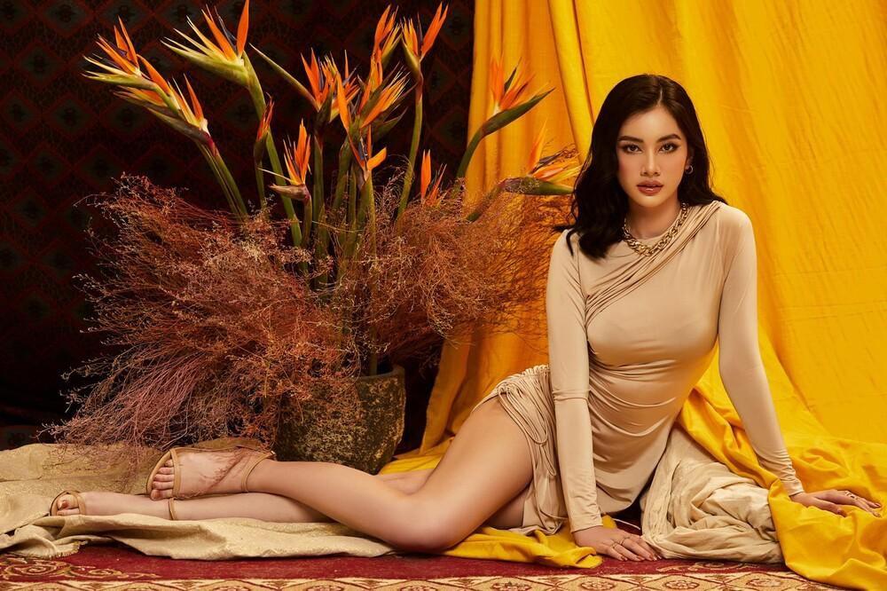 Úp mở thi Miss Universe Vietnam, tình trẻ của chồng cũ Lệ Quyên tung bộ ảnh khoe body gợi cảm Ảnh 8