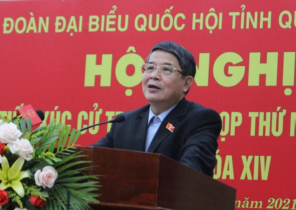 Phó Chủ tịch Quốc hội Nguyễn Đức Hải tiếp xúc cử tri tại Quảng Nam Ảnh 2