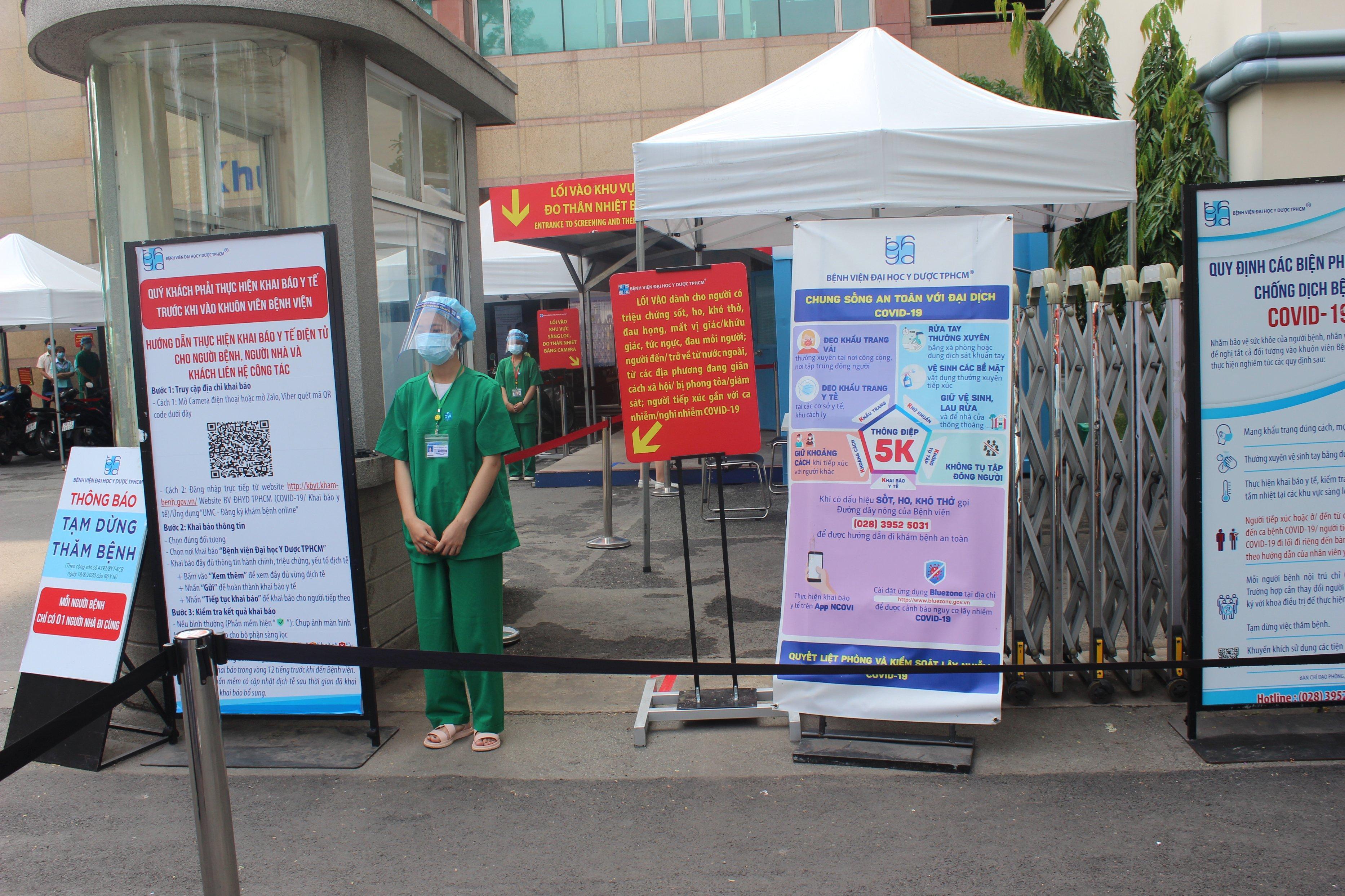 Giả định có ca COVID-19 để kiểm tra cách xử trí tại bệnh viện tiếp nhận người khám lớn nhất Việt Nam Ảnh 3