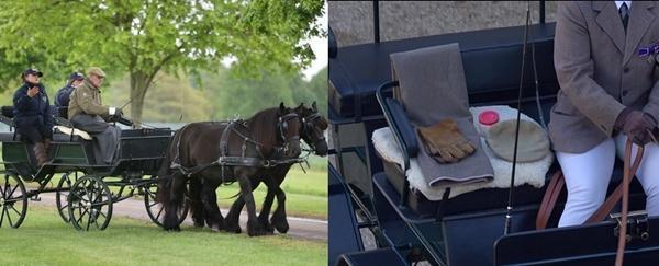 Lời tạm biệt cuối cùng: Bóng dáng cô độc của Nữ hoàng, xe ngựa chẳng còn Hoàng thân Philip Ảnh 5