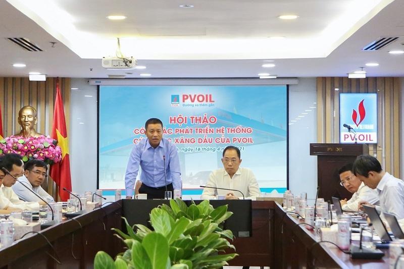 PVOIL tổ chức Hội thảo công tác phát triển hệ thống cửa hàng xăng dầu Ảnh 2