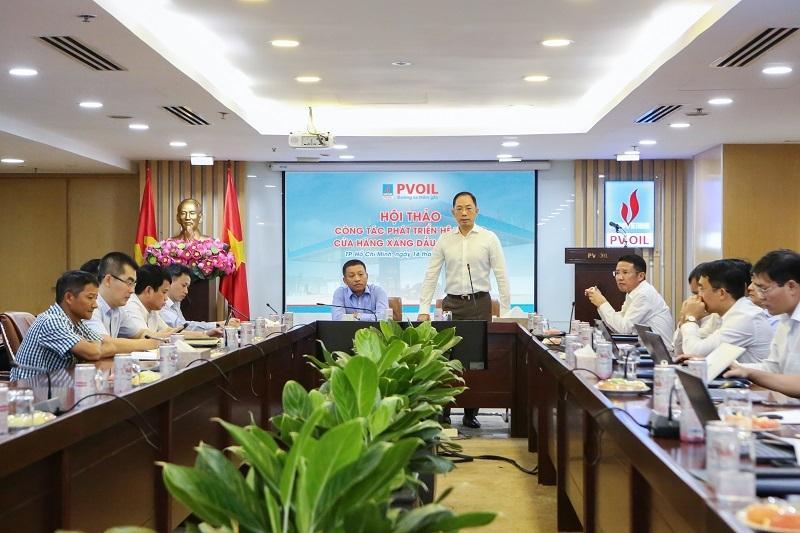 PVOIL tổ chức Hội thảo công tác phát triển hệ thống cửa hàng xăng dầu Ảnh 3