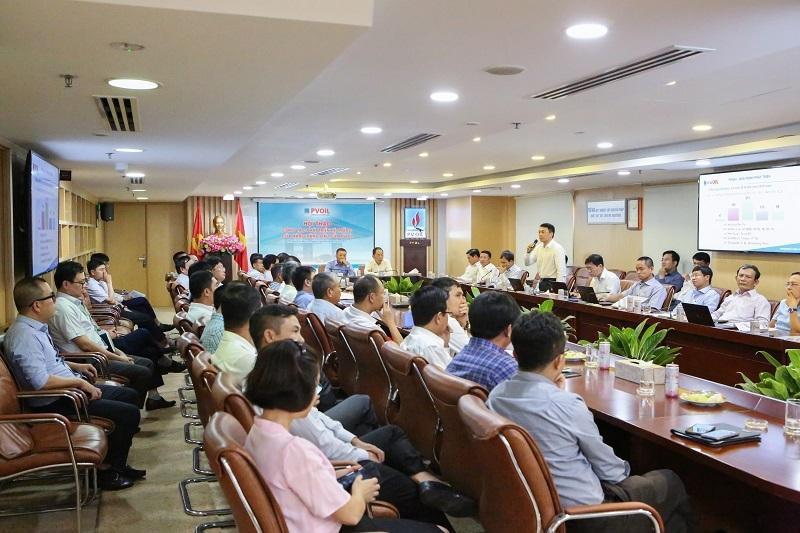 PVOIL tổ chức Hội thảo công tác phát triển hệ thống cửa hàng xăng dầu Ảnh 1