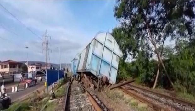 Ai Cập: Tàu hỏa bị trật khỏi đường ray khiến 97 người bị thương Ảnh 1