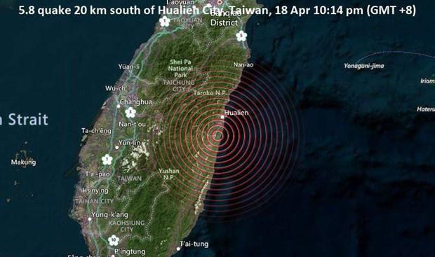 Đài Loan hứng chịu 2 trận động đất liên tiếp trong một ngày Ảnh 1