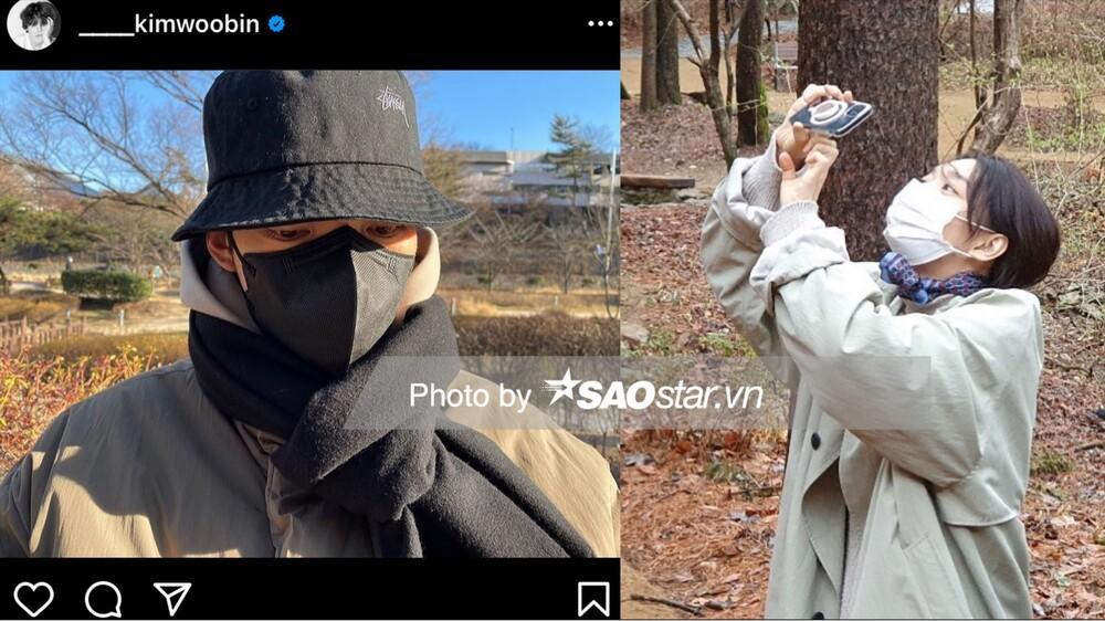 Độc quyền: Lộ loạt ảnh hẹn hò, diện đồ đôi của Shin Min Ah - Kim Woo Bin trước 'hôn lễ thế kỷ' Ảnh 7