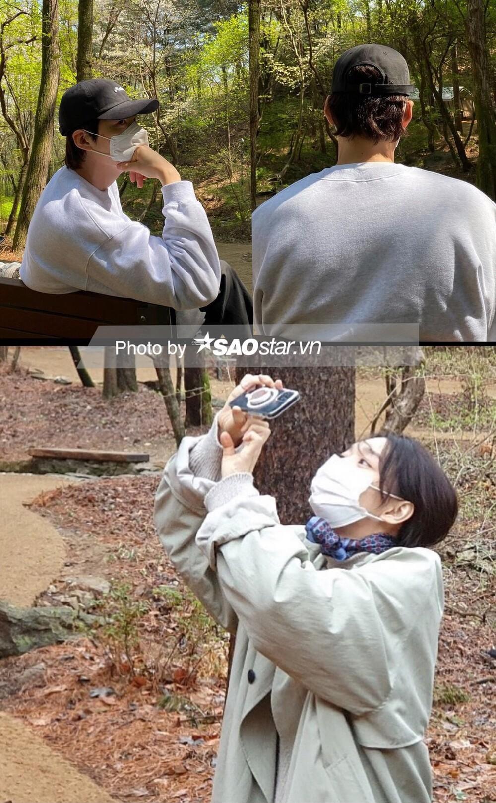 Độc quyền: Lộ loạt ảnh hẹn hò, diện đồ đôi của Shin Min Ah - Kim Woo Bin trước 'hôn lễ thế kỷ' Ảnh 14