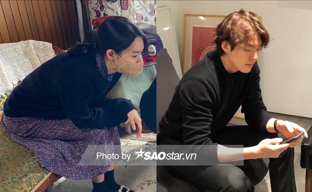 Độc quyền: Lộ loạt ảnh hẹn hò, diện đồ đôi của Shin Min Ah - Kim Woo Bin trước 'hôn lễ thế kỷ' Ảnh 11