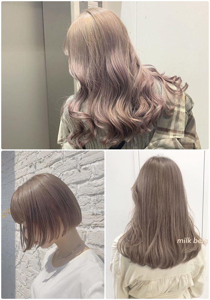 Học theo sao Hàn nhuộm tóc, chị em U40 mặt trẻ hơn tuổi Ảnh 3