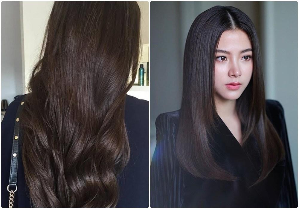 Học theo sao Hàn nhuộm tóc, chị em U40 mặt trẻ hơn tuổi Ảnh 11