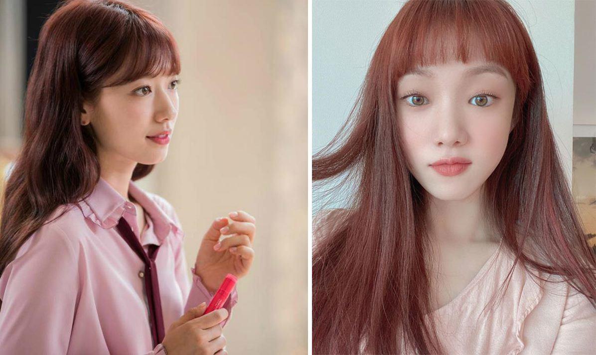 Học theo sao Hàn nhuộm tóc, chị em U40 mặt trẻ hơn tuổi Ảnh 4